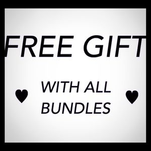 Free Surprise Gift + a discount with all bundles!
